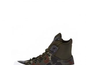 CONVERSE – Unisex ψηλά sneakers CONVERSE Chuck Taylor All Star MA-1 SE χακί
