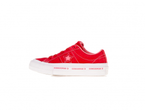 CONVERSE – Παιδικά sneakers CONVERSE One Star Ox κόκκινα