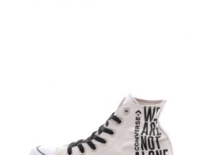 CONVERSE – Unisex ψηλά sneakers CONVERSE CHUCK TAYLOR ALL STAR γκρι καφέ