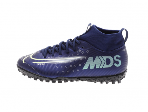 NIKE – Παιδικά παπούτσια football NIKE JR SUPERFLY 7 ACADEMY MDS TF μπλε