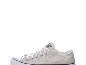 CONVERSE – Γυναικεία sneakers CONVERSE Chuck Taylor All Star Lift χρυσά