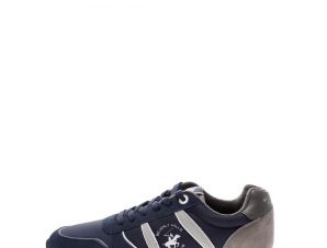BEVERLY HILLS POLO CLUB – Ανδρικά sneakers BEVERLY HILLS POLO CLUB μπλε