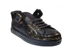 Tsimpolis Shoes Y Casual Γυναικείο Απο Συνθετικό Αδιάβροχο Δέρμα Μαύρο
