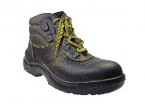 Tsimpolis Shoes 2512-S1P Μποτάκι Εργασίας Δερμάτινο Και Συνθετικό Μαύρο