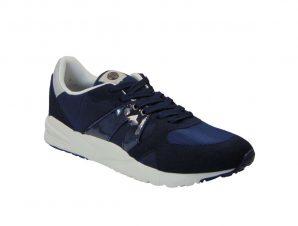 Montefiori MF517L Ανδρικό Sneaker Από Τεχνόδερμα Μπλέ