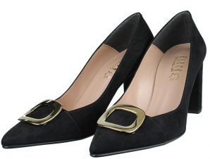 Ellen Shoes W12003/93 Μαύρο Καστόρι