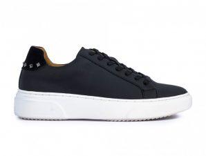 Ανδρικά μαύρα sneakers