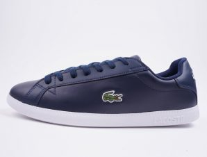 Lacoste Men's Straightset Leather Trainers (9000029547_5588)