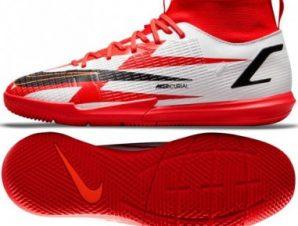 Nike Mercurial Superfly 8 Academy CR7 IC Jr DB2676 600 ποδοσφαιρικά παπούτσια