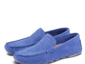 UGG M HENRICK STRIPE PERF 1014642 Μπλε