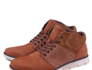 Zero Men's Mid Shoes J4494-B412 Camel